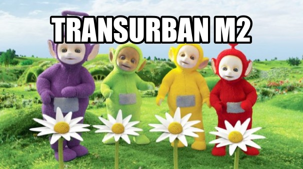 Article image for Transurban's ridiculous sculptures