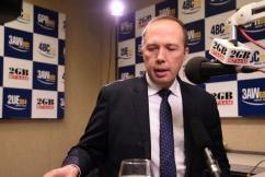 Immigration Minister Peter Dutton