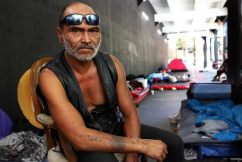 Homeless Camp Moves To Martin Place