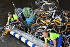 """O-Bikes Labelled """"Clutter"""""""