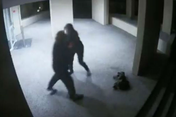 Article image for WATCH: Shocking domestic violence attack