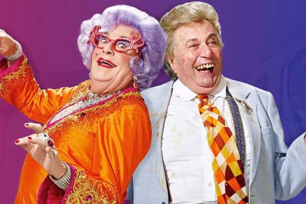 Article image for Legendary performer Barry Humphries explains the truth behind Dame Edna