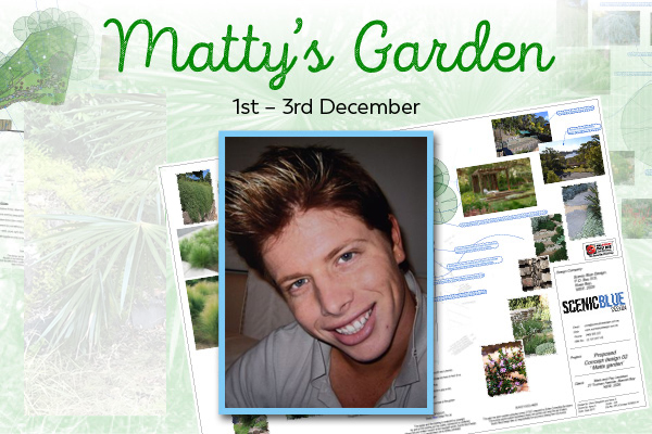 Article image for GALLERY | Ben thanks those who worked on Matty's Garden