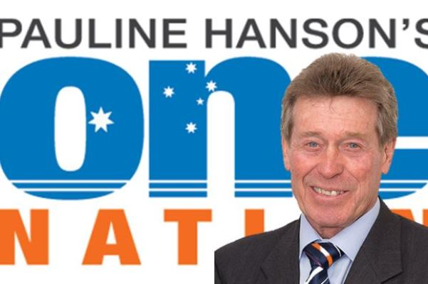 "Article image for ""Dinky di"" Australian running for One Nation against the big end of town"