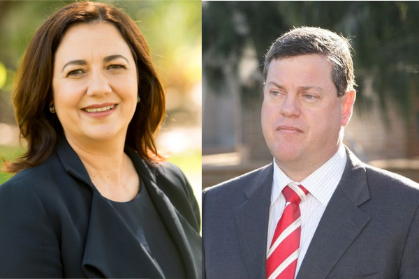 Article image for Palaszczuk headed for victory while Nicholls' future looking grim