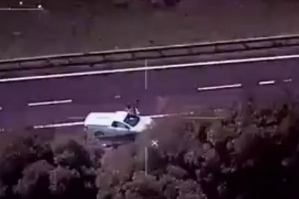Article image for WATCH: Incredible Police Chase & Arrest