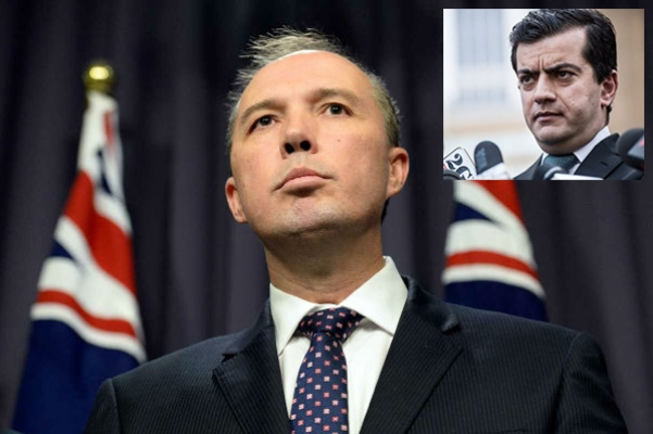 Article image for Peter Dutton: 'Labor can't have a foreign spy sitting in the senate'