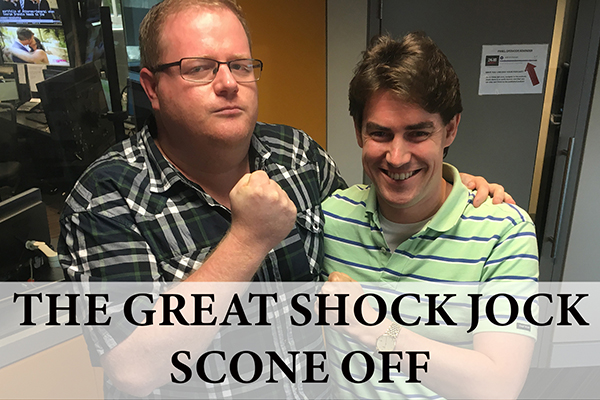 Article image for WATCH: The Great Shock Jock Scone Off