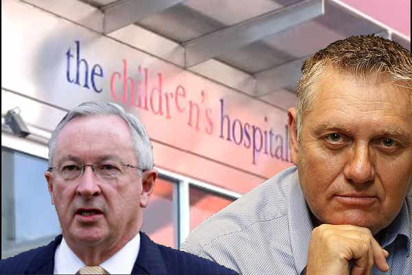 Article image for Health Minister admits there's no end in sight for children's hospital crisis