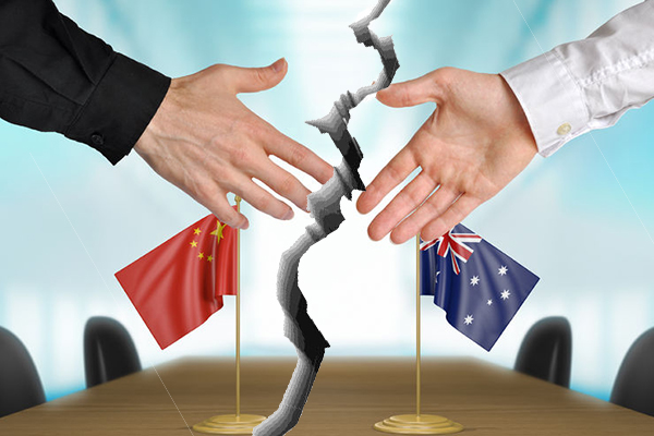 Article image for Australia-China relations in 'a difficult situation'