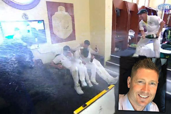 Article image for Did Australia's booze-soaked Ashes celebrations go too far?