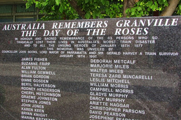 Article image for First responder gives recount of harrowing Granville train disaster ahead anniversary