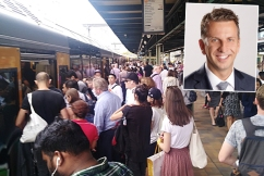 Transport Minister admits rail network is 'bursting at the seams'
