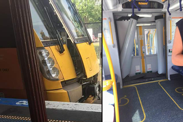 Article image for 16 injured in Sydney train derailment