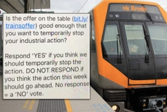 Union manipulating train drivers to vote FOR strike action