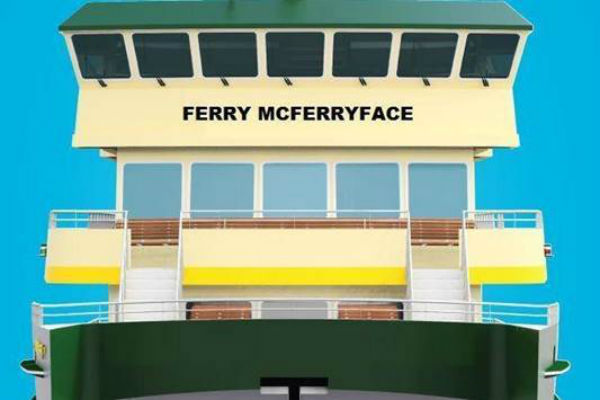 Article image for Ferry McFerryface renamed after Ray Hadley revelations