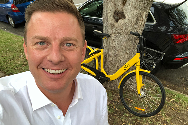 Article image for What should Ben do about this lonely share bike?