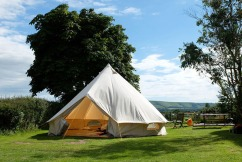 Ditch the cramped tents for something more luxurious