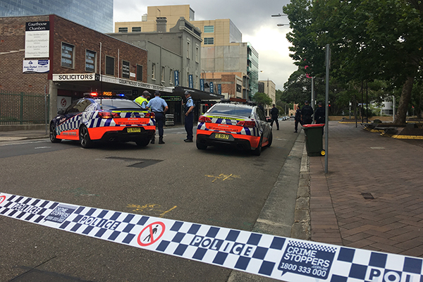 Article image for Police shut down Parramatta CBD due to suspicious package