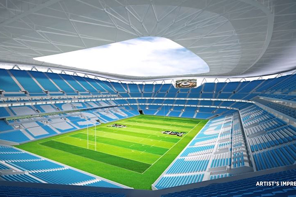 Article image for Former Rugby League boss backs stadiums plan