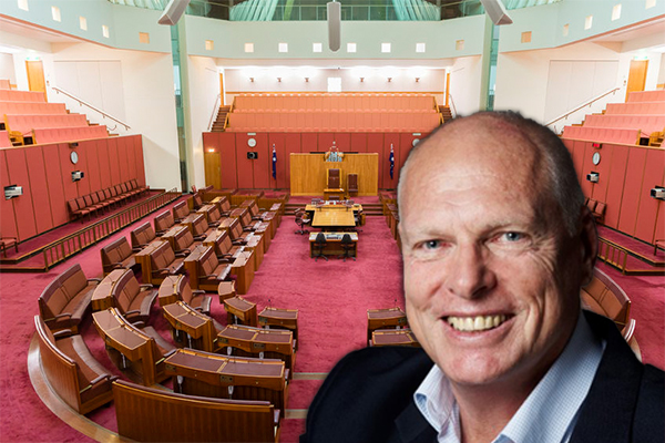 Article image for Jim Molan officially sworn into the Senate