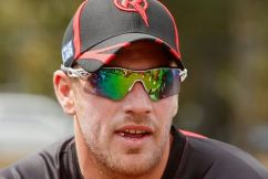 Aaron Finch hits one of the biggest sixes of the summer!