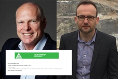 Jim Molan 'deeply disappointed' in Bandt's apology