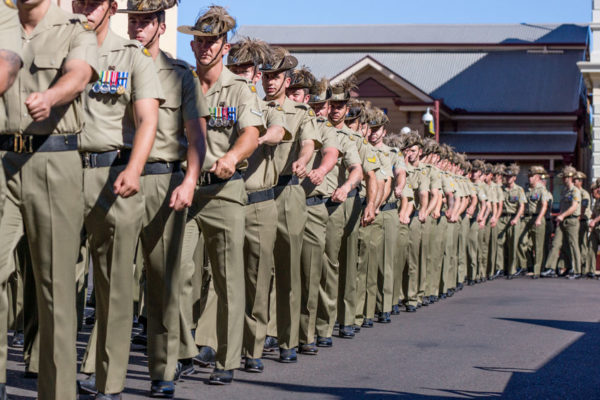 Article image for Children banned from marching in ANZAC parade