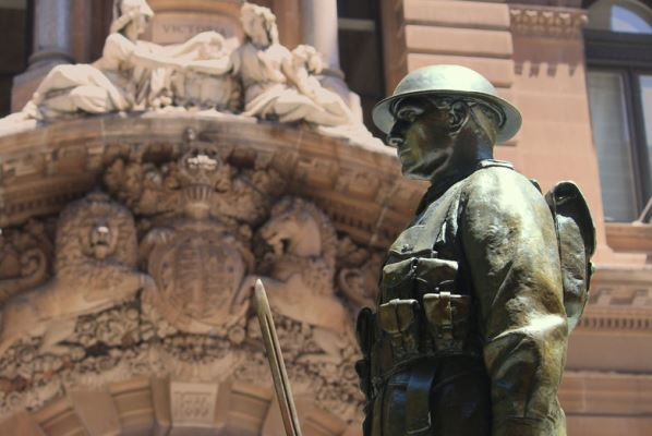 Article image for Police 'on alert' for ANZAC Day with terror threat level still at 'probable'