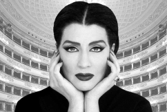 Aussie stars as the original Kardashian, Maria Callas
