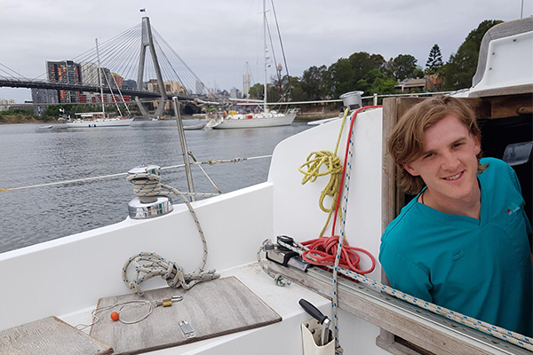 Article image for Young Aussie doctor to sail 15,000km solo for indigenous literacy