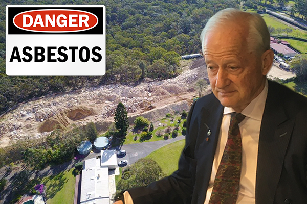 Article image for Philip Ruddock investigating Arcadia asbestos dump