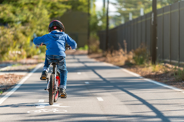 Article image for Cyclists pedaling to lift ban on footpath age limit