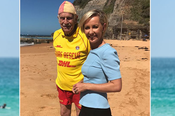 Article image for Meet Australia's oldest volunteer lifesaver, at 87-years-young