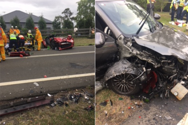 Article image for Both drivers are lucky to be alive