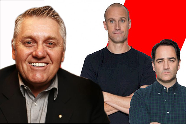 Article image for WATCH | Ray Hadley grills Fitzy and Wippa after he was almost put off air