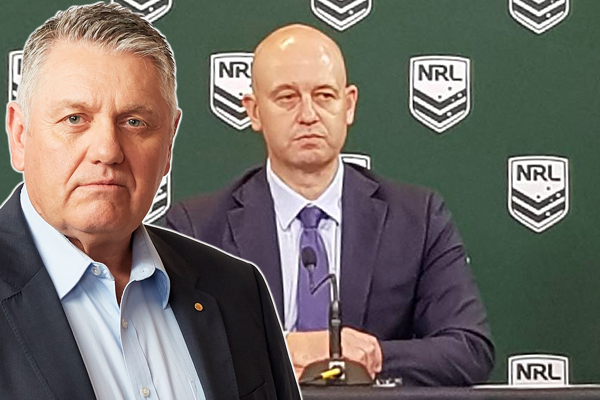 Article image for Ray Hadley slams the NRL's 'folly' over early return