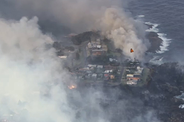 Article image for More than 70 homes destroyed in devastating south coast bushfire