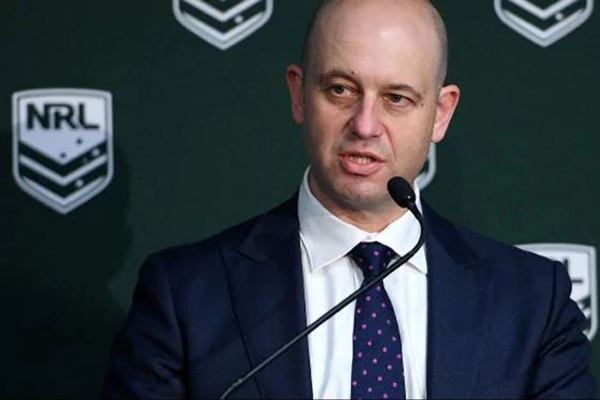 Article image for NRL CEO Todd Greenberg updates the state of the game ahead of Origin