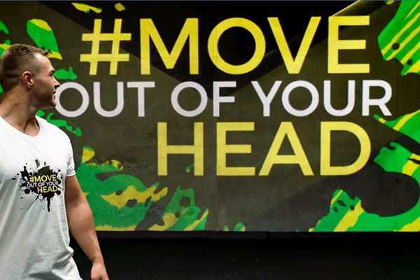 Article image for NRL star launches unique mental health campaign