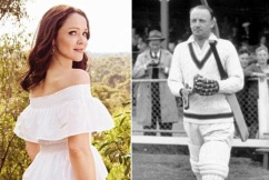 Sir Donald Bradman's granddaughter is 'the talent in the family'