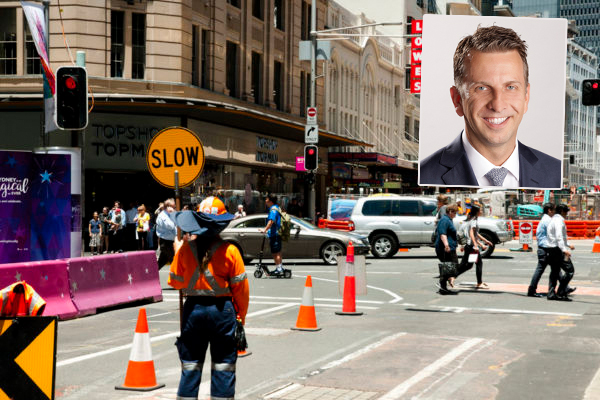 Article image for 'This is not complex construction work': Transport Minister slams light rail contractor