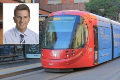 'I'm going to turn this around': Transport Minister promises more light rail compensation