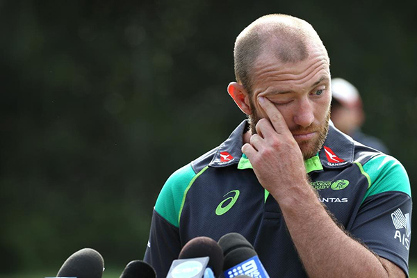 Article image for Father of bashed Aussie 7s captain says son is in a 'serious way'