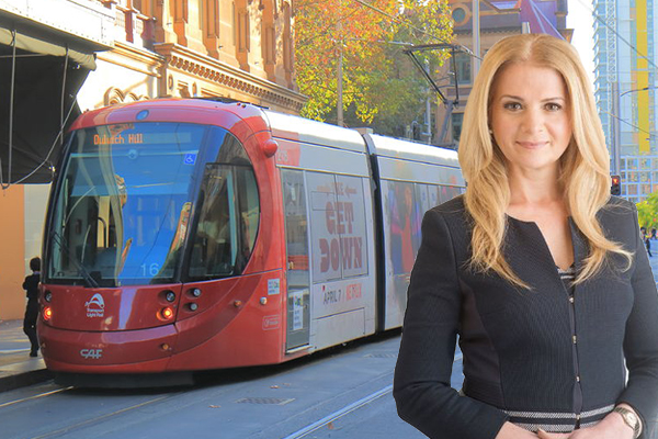 Article image for Light rail disaster | 'I've had a gut full because the people of NSW have had a gut full'