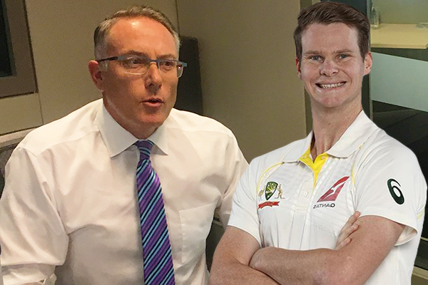 Article image for Foxtel boss hints at commentary lifeline for Steve Smith and Bill Lawry
