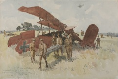 The story of how an Australian shot down The Red Baron