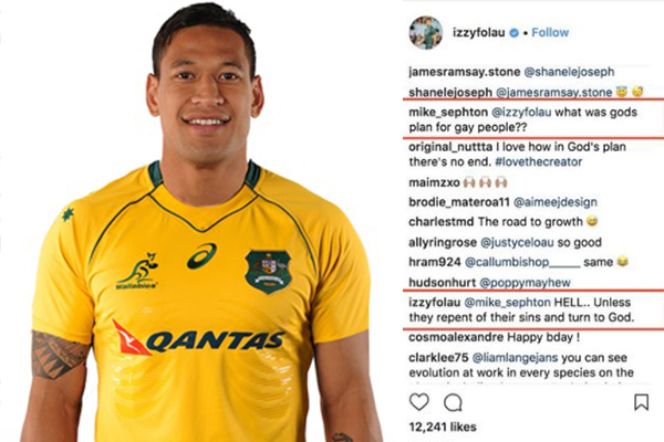 Article image for 'Storm in a teacup' | Former Wallabies skipper on Folau drama