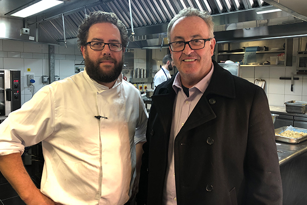 Article image for The Kiwi chef making waves in London by defying tradition