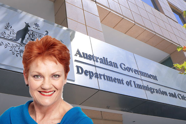 Article image for 'Let the people have their say', Senator Pauline Hanson calls for plebiscite on immigration